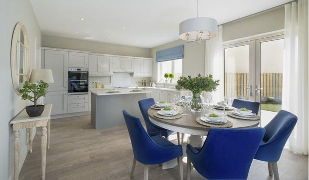 The kitchens are supplied by CBK Designs