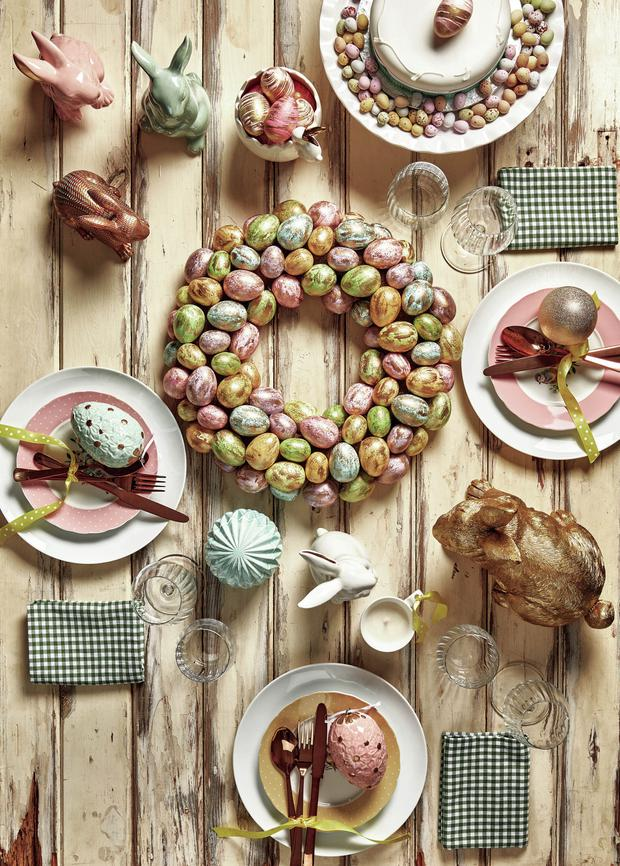A tablescape from Homesense
