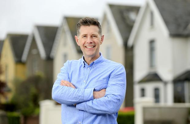 Dermot Bannon photographed by Gerry Mooney