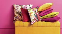 Spring cushions from Homesense