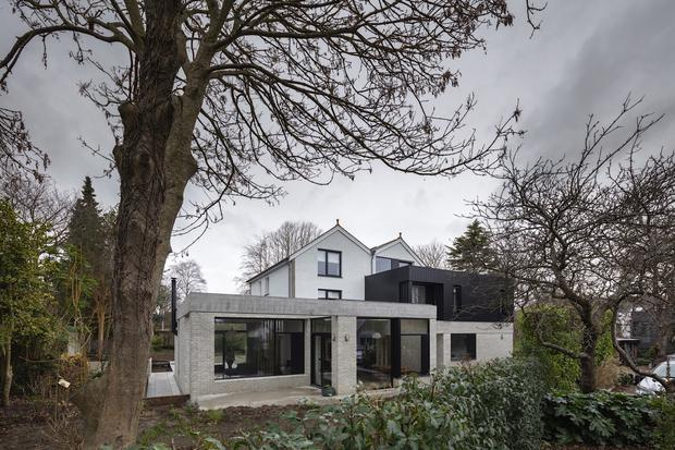 """A Dublin extension to a period home completed by Brennan Furlong Architects and Urban Planners: """"Design the extension in a manner that complements, but doesn't mimic, the original fabric."""""""