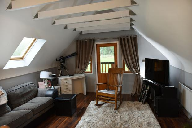 The upstairs sitting room