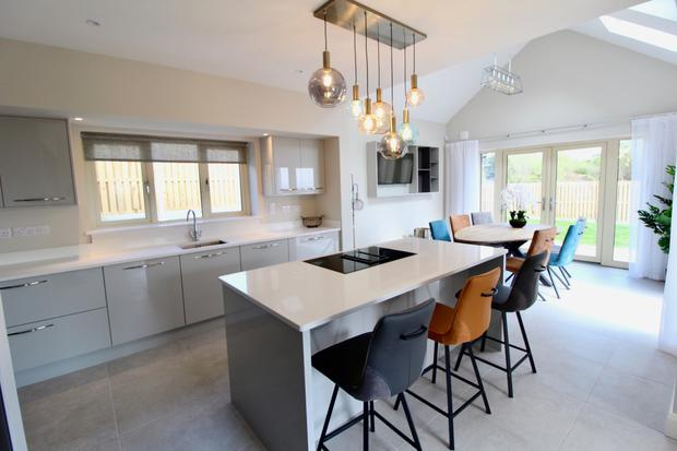 Galway calling: The kitchens at Dún Éibhir come with soft-close doors and drawers as well as Silestone countertops