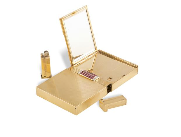 Gold strike: A minaudière coming up for sale at Adam's auction