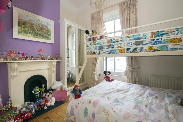 Obviously there's no shortage of toys and cuddlies in Juliet and Samuel's bedroom