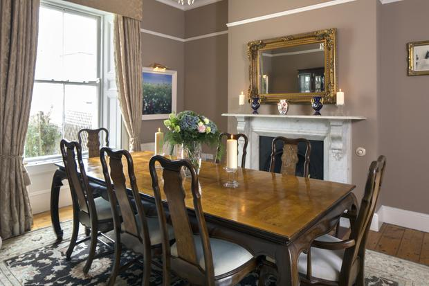 Rhoda McDonagh fell in love with the period details of her 19th-Century home in Dublin 4 - the coving, the mantlepieces, the high ceilings. The dining-room table was her late mother's and Rhoda uses it regularly when entertaining family and friends