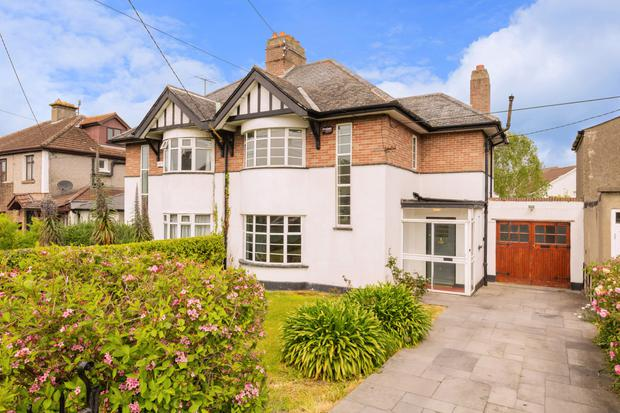 56 Bird Avenue in Clonskeagh, Dublin 14, is a three-bed home for sale for €645,000
