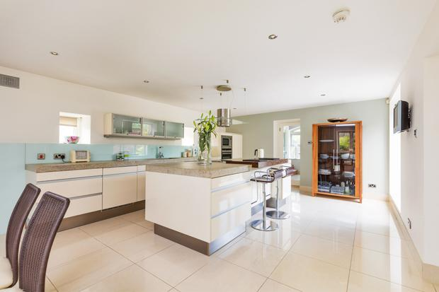 The Siematic fitted kitchen