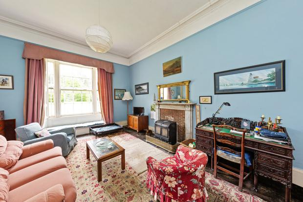 The family room also benefits from the wider window setting