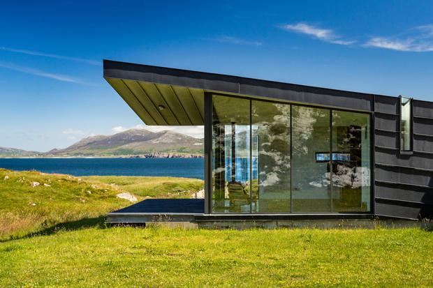 Tuath good to be true: The property on the Fanad Peninsula has direct access to the beach, with 180 metres of water frontage