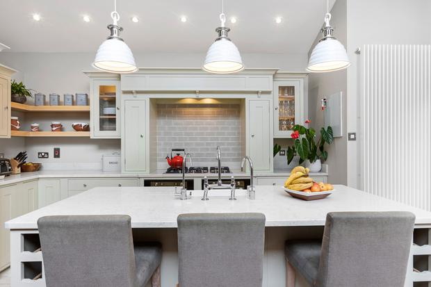 The neptune kitchen has softened the period home