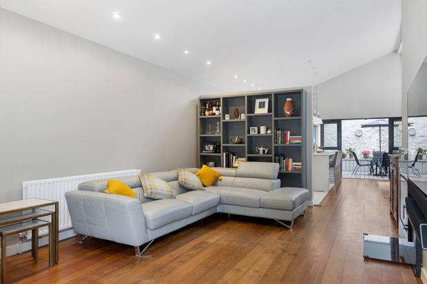 Deceptively spacious for real: the open-plan living area