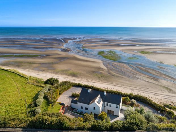 Silver Beach - the Boyne Valley culture landed right here on this strand