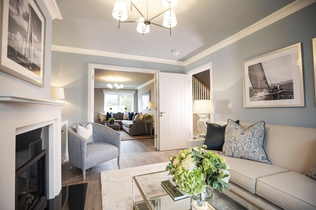 Coming soon: The Amberley scheme, consisting of two and three-bed duplexes and four-bed houses, will launch in Blackrock later this month