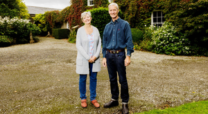 Lorely and Rob Forrester at The Rectory in Easky, Co Sligo. Photo: James Connolly