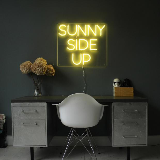Always look on the bright side with this statement neon piece. Sunny side up, €365 at bagandbones.co.uk
