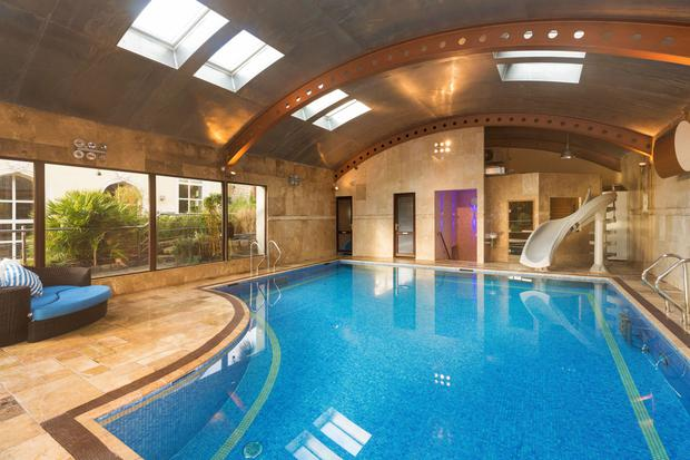 In the swim: the fantasy pool room at Brentwood