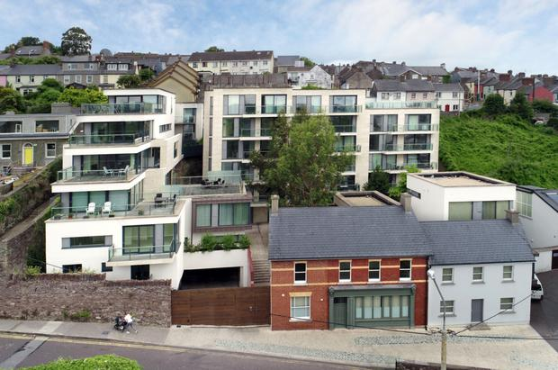 Rooms with a view: Views of Cork city's Mardyke walk and St Fin Barre's Cathedral are neatly framed from the units at the Altus development