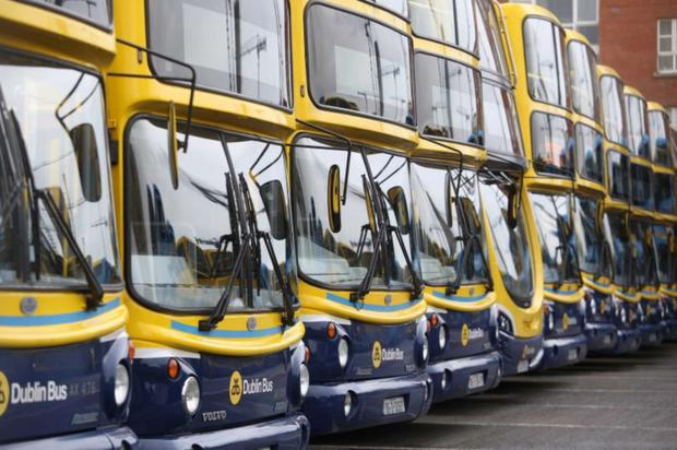 Several Dublin Bus routes were withdrawn due to gangs of youths, multiple fires and stolen cars joyriding