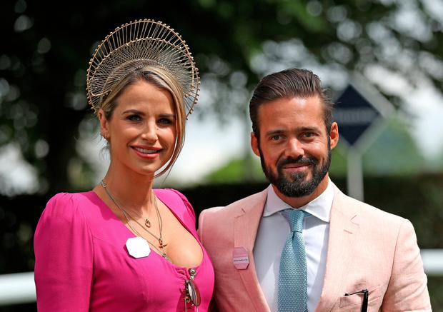 Howth retreat: Vogue and husband Spencer regularly use the apartment on return visits to Ireland