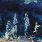 Helen's favourite: The Enfolding Night, 1947, is by Jack B Yeats (Lot 20: est. €500,000 to €700,000),