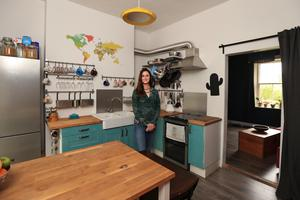 Lisa McNamee pictured in the kitchen of her home in Inchicore