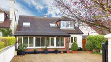 The house at 3 Upper Newtownpark Avenue is a detached dormer bungalow at 1,862 sq ft