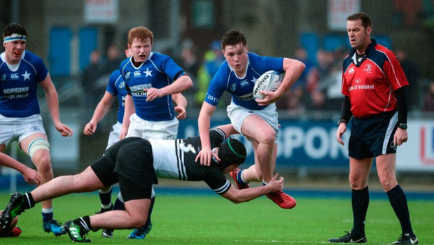 From the property you can watch Leinster's 'A' team play (our shot features St Mary's)