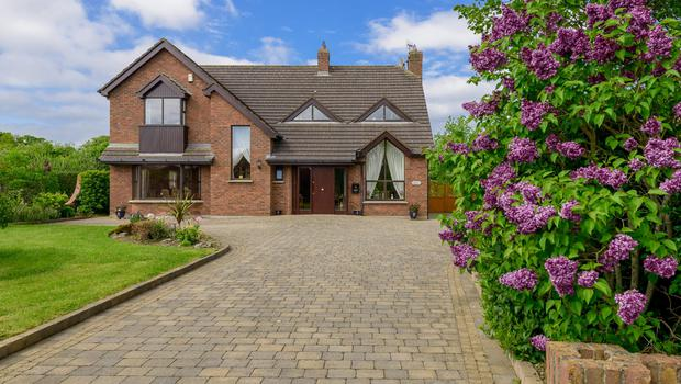 Lios Dún is set on half an acre, and has four bedrooms and several reception rooms