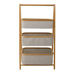Bamboo storage rack, €270: Perfect hideaway for all things practical but un-pretty, ie.amara.com