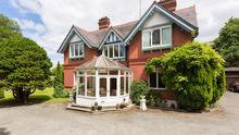 Chadsley House has crafted chimney stacks, box bay-windows and ornate gables