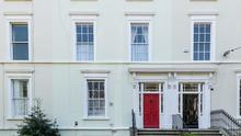 This Victorian property comprises three storeys and a basement