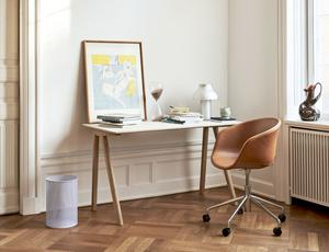This sleek, ergonomic beauty would be a joy to work from and inconspicuous enough in a common area. Hay Copenhague Desk, €697, nest.co.uk