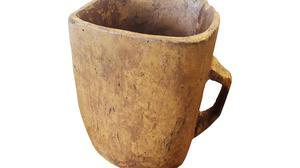 Folk collection: The mether from Co Fermanagh dates back to the 16th or early 17th century and has a reserve of €3,000-5,000