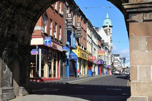 Derry is only half an hour's drive away