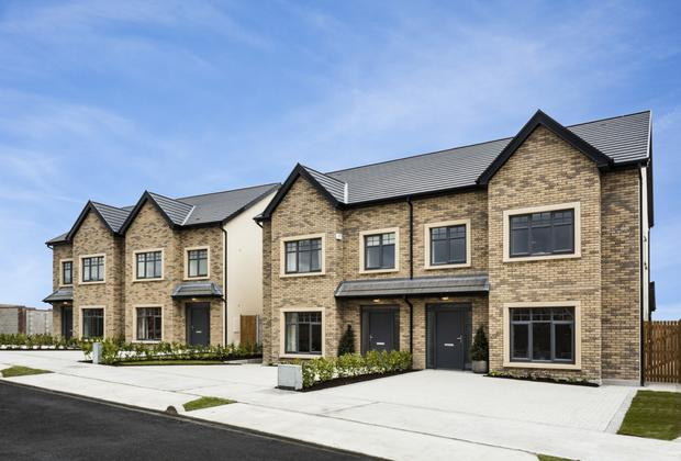 The exterior of the Broadmeadow Vale four-bed semi-detached
