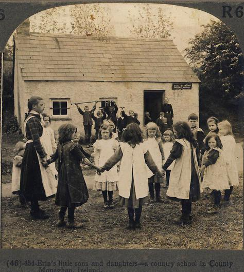 An Irish country school of old