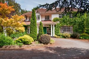 The perfect family home at Brennanstown Road, Foxrock.