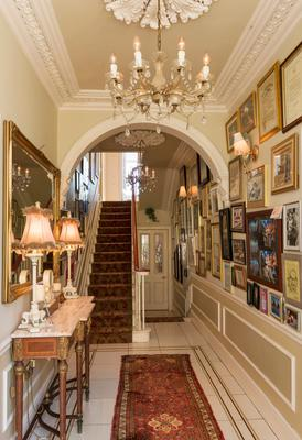 Adele King (Twink): The entrance hallway in Knocklyon