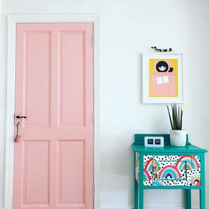 Now's the time to inject some cheery colour into your home — doors and small furniture pieces are ideal beginner projects, says Instagrammer Joanne Condon