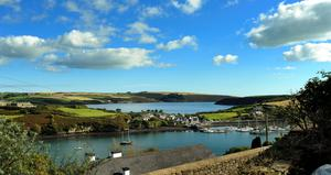 The view across Kinsale from Dromderrig