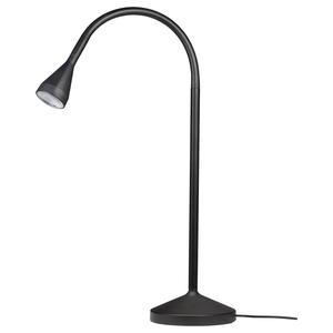 This LED lamp is highly energy efficient and gives good focused light. Nävlinge lamp, Ikea; €15