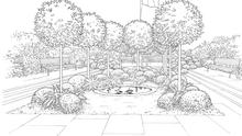 Diarmuid Gavin's design for a 1916 garden of remembrance