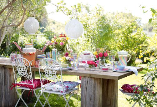 A picnic arrangement designed by BHS