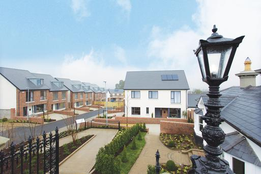 Knockrabo on Mount Anville Road, aims for the top of the market with 23 houses in four styles