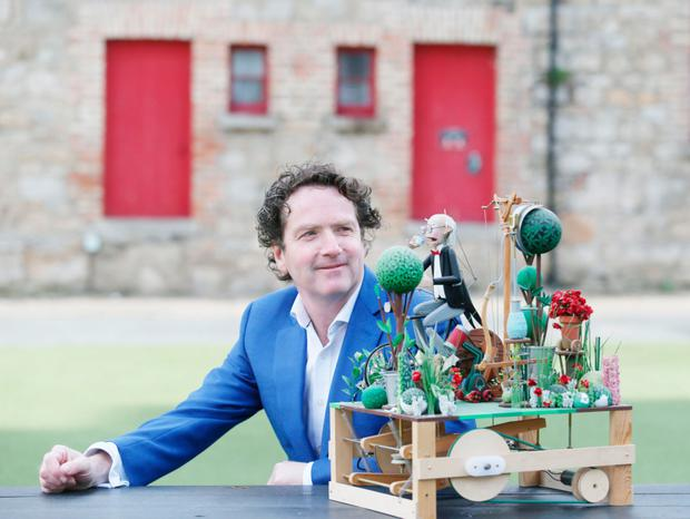 Dreamer: Diarmuid Gavin with a mechanical model
