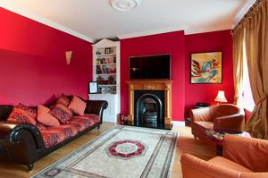 Living room at Eagle Valley, Enniskerry, Co Wicklow