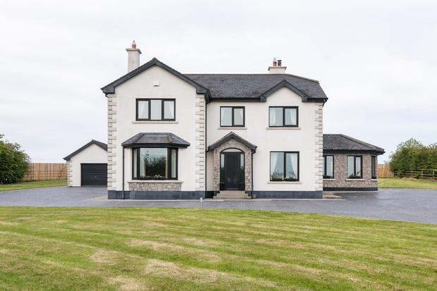 This substantial detached house in Clonbonny, near Athlone, extends to 2,920 sq ft