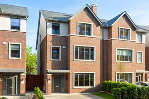 The exterior of 8 The Avenue, a five/six-bed semi-detached property on the market for €1.55m