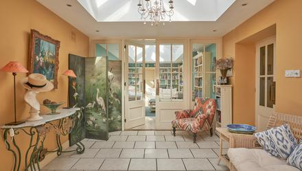 The summer room at Melrose in Sutton